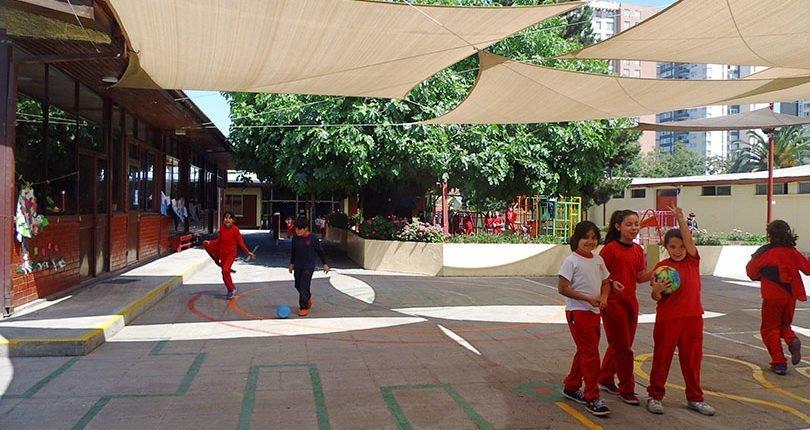 Niñas y niños, Colegio Florence Nightingale