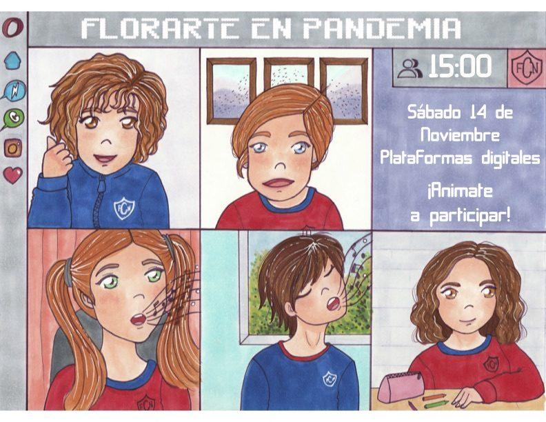 Afiche Florarte